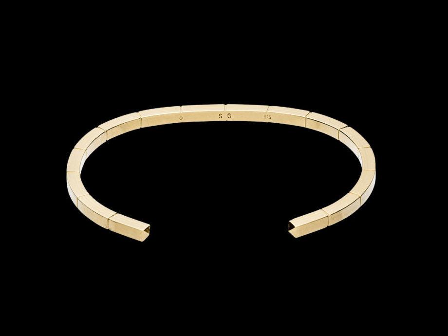 Bracelet carré vermeil