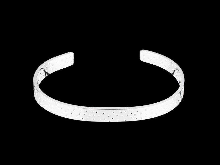 Bracelet large argent